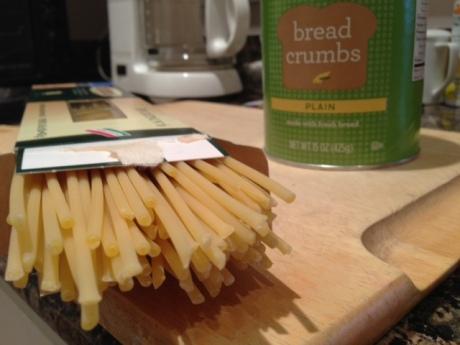 Bucatini pasta & breadcrumbs